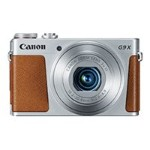 PowerShot G9 X - Digital camera - High Definition - 59.94 fps - compact - 20.2 MP - 3 x optical zoom - Wi-Fi, NFC - silver