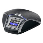 Konftel 55Wx - Bluetooth conference unit - liquorice black/silvery - for  55Wx 910101082