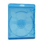 Blu-Ray DVD Blue Cases - 30pk
