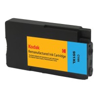 eReplacements Kodak CN046AN-KD High Yield Cyan Remanufactured Ink Cartridge Replacement for HP 951XL for use with HP OfficeJet Pro 251dw, 276dw, 8100, 8600, 8600 N911a, 8610, 8615, 8616, 8620, 8625, 8630 CN046AN-KD