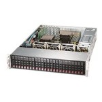 "Super Micro Supermicro SuperStorage Server 2028R-ACR24L - Server - rack-mountable - 2U - 2-way - RAM 0 MB - SAS - hot-swap 2.5"" - no HDD - AST2400 - GigE, 10 GigE - no OS - monitor: none SSG-2028R-ACR24L"