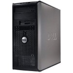 OptiPlex 755 Intel Core 2 Duo 3.0GHz Mini Tower PC - 2GB RAM, 320GB HDD, DVD+/-RW, Gigabit Ethernet - Refurbished
