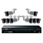 8-Channel 1080p HD 2TB NVR with 4 1080p Cameras