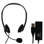Dragon Analog Headset with USB Adapter