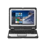 "Panasonic Toughbook 20 - Tablet - with keyboard dock - Core m5 6Y57 / 1.1 GHz - Win 7 Pro (includes Win 10 Pro License) - 8 GB RAM - 256 GB SSD - 10.1"" IPS touchscreen 1920 x 1200 - HD Graphics 515 - Wi-Fi, Bluetooth - 4G - rugged - with Toughbook Preferred CF-20A5099KM"