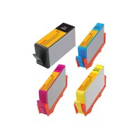 eReplacements Kodak 4-Pack High Yield Black, Yellow, Cyan, Magenta Remanufactured Ink Cartridge Replacement for HP 920XL D8J68FN-KD