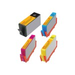 Kodak 4-Pack High Yield Black, Yellow, Cyan, Magenta Remanufactured Ink Cartridge Replacement for HP 920XL