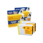 Kodak - 2-pack - High Yield - black - remanufactured - ink cartridge (alternative for: Brother LC51BK) - for Brother DCP-130, 330, 350, 540, MFC-230, 3360, 440, 465, 5460, 5860, 665, 685, 845, 885