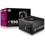 V Series V550 - Power supply (internal) - ATX12V 2.31 - 80 PLUS Gold - AC 100-240 V - 550 Watt - active PFC - United States