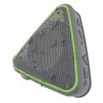 Splashproof Wireless Speaker with Speakerphone - Gray