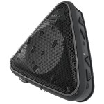 Splashproof Wireless Speaker with Speakerphone - Black