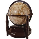 Globe Bluetooth Speaker - Brown