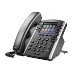 Polycom Microsoft Skype for Business Edition VVX 410 12-line Desktop Phone with HD Voice, GigE and Polycom UCS SfB License. Ships without power supply. 2200-46162-019