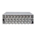 Supermicro MicroCloud SuperServer 5039MS-H8TRF - 8 nodes - cluster - rack-mountable - 3U - 1-way - RAM 0 MB - no HDD - AST2400 - GigE - no OS - monitor: none