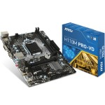MSI H110M PRO-VD Micro-ATX Motherboard H110M PRO-VD