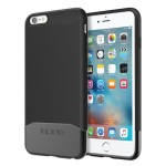 Edge Chrome Hard Shell Slider Case with Chrome Finish for iPhone 6 Plus / iPhone 6s Plus - Black/Black