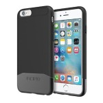 Edge Chrome Hard Shell Slider Case with Chrome Finish for iPhone 6 / iPhone 6s - Black/Black