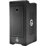 36TB G-SPEED Shuttle XL Thunderbolt 2 with ev Series Bay - Transportable, Hardware RAID 8-Bay Thunderbolt 2 Storage Solution with 2 ev Series Bay Adapters, Evolution Series Compatible