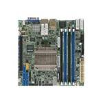 SUPERMICRO X10SDV-8C-TLN4F - Motherboard - mini ITX - Intel Xeon D-1541 - USB 3.0 - 2 x 10 Gigabit LAN, 2 x Gigabit LAN - onboard graphics