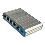 CAMSWITCH Plus 4 - Switch - unmanaged - 4 x 10/100 (PoE+) + 1 x 10/100 - desktop, wall-mountable - PoE+