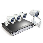 Zmodo 8 Channel H.264, 960H DVR Security System with 4 x 700TVL Night Vision w/IR Cut Outdoor Cameras (No HDD) KHI8-YARUZ4ZN