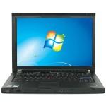 """Thinkpad T400 Intel Core 2 Duo P8600 2.4GHz Notebook - 3GB RAM, 160GB HDD, 14"""" HD, DVD+/-RW, Gigabit Ethernet - Refurbished"""
