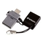 Store 'n' Go Dual USB Flash Drive for OTG Devices - USB flash drive - 64 GB - USB 2.0 / micro USB