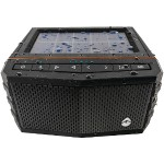 Grace Digital Audio Solar-Powered Waterproof Speaker - Black GDIEXSJ401