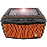 Solar-Powered Waterproof Speaker - Orange
