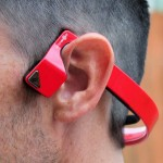VoxLinc Aftershokz Bluez 2S Wireless Headphones - Red AS500SR