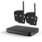 720p HD Smart Wireless Home Kit with 2 Outdoor WiFi Cameras and 500GB Hard Drive