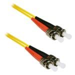 ST to ST 9/125 Singlemode Duplex Yellow 6 Meter Fiber Cable