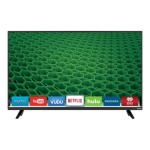 "D40-D1 - 40"" Class (39.5"" viewable) - D-Series LED TV - Smart TV - 1080p (Full HD) - full array"