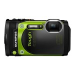 Stylus Tough TG-870 - Digital camera - High Definition - 60 fps - compact - 16.0 MP - 5 x optical zoom - Wi-Fi - underwater up to 45 ft - green