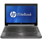"EliteBook 8560w Intel Core i5-2540M 2.6GHz Workstation - 8GB RAM, 128GB SSD, 15.6"" HD LED, DVD+/-RW, Gigabit Ethernet, Webcam - Refurbished"