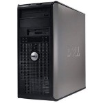 Dell OptiPlex 755 Intel Core 2 Duo 3.0GHz Mini Tower PC - 4GB RAM, 2TB HDD, DVD+/-RW, Gigabit Ethernet - Refurbished PC1-0293