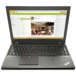 "Lenovo ThinkPad T560 20FH - Ultrabook - Core i5 6300U / 2.4 GHz - Win 7 Pro 64-bit - 8 GB RAM - 256 GB SSD TCG Opal Encryption 2 - no ODD - 15.6"" IPS 1920 x 1080 ( Full HD ) - HD Graphics 520 - 802.11ac, Bluetooth - WWAN upgradable - black 20FH001RUS"