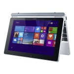 "Aspire Switch 10 Pro SW5-012P-19KD - Tablet - with keyboard dock - Atom Z3735F / 1.33 GHz - Win 10 Pro 32-bit - 2 GB RAM - 64 GB eMMC - 10.1"" touchscreen 1280 x 800 - HD Graphics - gray, silver - academic"