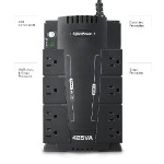Cyberpower SE425G 425VA/255W 8-OUTLETS UPS SE425G