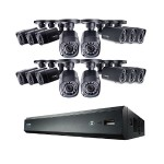 Lorex Technology 8-Channel MPX 1080p HD 1TB DVR with 4 Weatherproof IR Cameras LHV00162TC16B