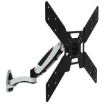 "Wall Mount Monitor Stand Swivel Tilt Rotate Wallmount 37""-50"""
