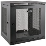"12U Wall Mount Rack Enclosure Cabinet Wallmount 20.5"" Depth with Doors & Sides 200lb Cap"
