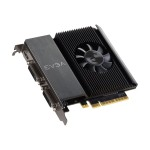 GeForce GT 710 - Graphics card - GF GT 710 - 1 GB DDR3 - PCIe 2.0 x16 - 2 x DVI, Mini-HDMI