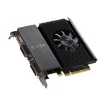 GeForce GT 710 - Graphics card - GF GT 710 - 2 GB DDR3 - PCIe 2.0 x16 - 2 x DVI, Mini-HDMI