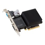 GeForce GT 710 - Graphics card - GF GT 710 - 2 GB DDR3 - PCIe 2.0 x16 - DVI, D-Sub, HDMI - fanless