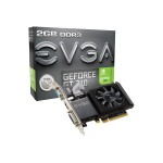 GeForce GT 710 - Graphics card - GF GT 710 - 2 GB DDR3 - PCIe 2.0 x16 - DVI, D-Sub, HDMI