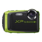 FinePix XP90 - Digital camera - compact - 16.4 MP - 1080p / 60 fps - 5x optical zoom - Fujinon - Wi-Fi - underwater up to 45 ft - lime