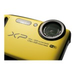 FinePix XP90 - Digital camera - compact - 16.4 MP - 1080p / 60 fps - 5x optical zoom - Fujinon - Wi-Fi - underwater up to 45 ft - yellow