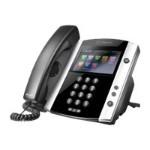 VVX 600 - VoIP phone - H.323, SIP, RTCP, RTP, SRTP, SDP - 16 lines