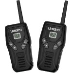 Uniden 20-Mile 2-Way FRS/GMRS Radios with Micro USB Charger GMR20502C